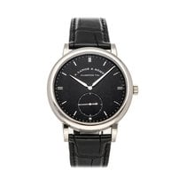 A. Lange & Söhne Saxonia White gold 40mm Black No numerals United States of America, Pennsylvania, Bala Cynwyd