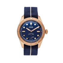 Oris Carl Brashear 01 401 7764 3185-Set Very good Bronze 40mm Automatic United States of America, Pennsylvania, Bala Cynwyd