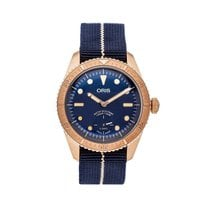 Oris Carl Brashear Bronze 40mm Blue No numerals United States of America, Pennsylvania, Bala Cynwyd