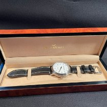 Meistersinger N° 01 pre-owned 43mm Champagne Leather
