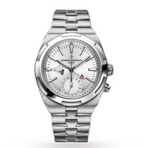 Vacheron Constantin Overseas Dual Time Steel 41mm Silver No numerals United States of America, Iowa, Des Moines