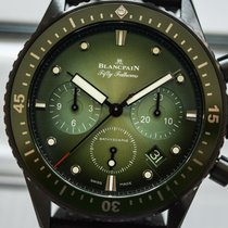 Blancpain Fifty Fathoms Bathyscaphe Керамика Зеленый