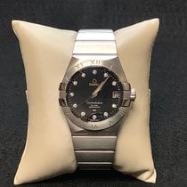 Omega Constellation Men new Automatic Watch with original box and original papers 123.10.38.21.51.001