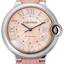 Cartier Ballon Bleu 36mm gebraucht 36mm Leder