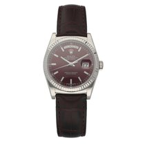 Rolex Day-Date 36 White gold 36mm Bordeaux United States of America, Florida, Sarasota