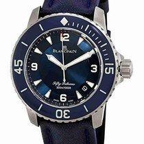 Blancpain Fifty Fathoms neu 2021 Automatik Uhr mit Original-Box und Original-Papieren 5015-12B40-O52A
