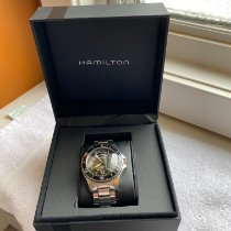 Hamilton Khaki Navy Scuba Steel 41mm Black United States of America, Illinois, Rockford