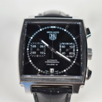 TAG Heuer Monaco Calibre 12 Steel 39mm Black No numerals United States of America, Florida, Hollywood