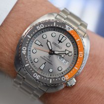 Seiko Prospex Steel 43mm Grey No numerals