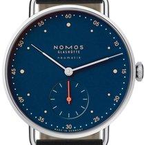 NOMOS Metro Neomatik Steel 38.5mm Blue No numerals