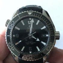 Omega Seamaster Planet Ocean Steel 43.5mm Black Arabic numerals United States of America, Montana, Bozeman