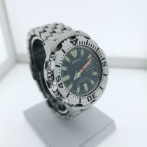 Seiko Prospex Steel 48mm Black No numerals
