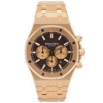 Audemars Piguet Royal Oak Chronograph Roségold 41mm Braun
