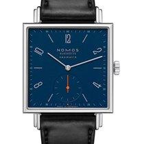 NOMOS Tetra Neomatik neu 2021 Automatik Uhr mit Original-Box und Original-Papieren 422