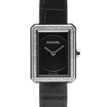 Chanel Boy-Friend Сталь 28mm Черный