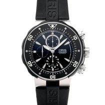 Oris ProDiver Chronograph Titan 51mm Schwarz