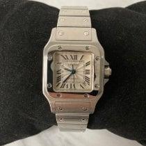 Cartier Santos Galbée новые Автоподзавод Часы с оригинальными документами и коробкой 817650CD