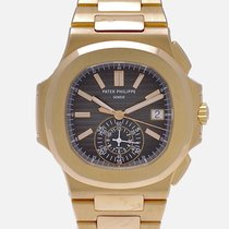 Patek Philippe Nautilus 5980/1R-001 Very good Rose gold 40mm Automatic