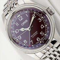 Oris Big Crown Pointer Date Steel 40mm Red Arabic numerals
