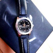 Breitling Airwolf Steel 44mm Black Arabic numerals
