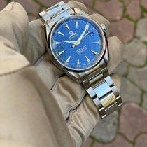Omega Seamaster Aqua Terra Ocel Modrá Bez čísel