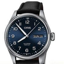 Oris Big Crown ProPilot Day Date Acier 44mm Bleu