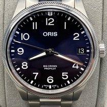 Oris Big Crown ProPilot Date Stahl 41mm Blau Deutschland, Berlin