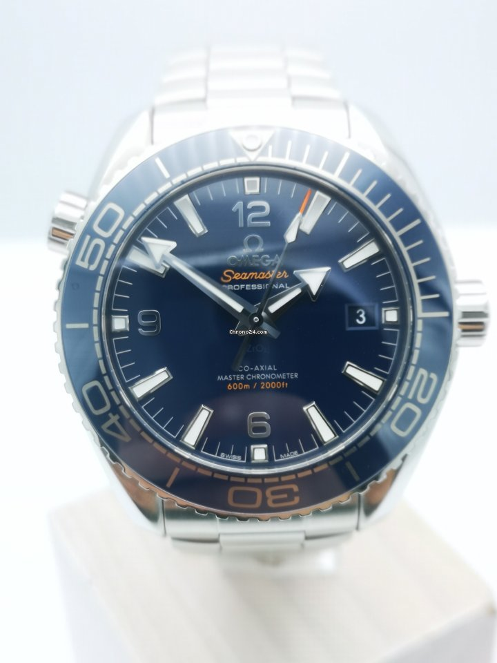 Omega Seamaster Planet Ocean 215.30.44.21.03.001 2018 pre-owned