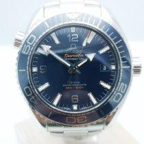 Omega Seamaster Planet Ocean подержанные 43.5mm Синий Дата Сталь