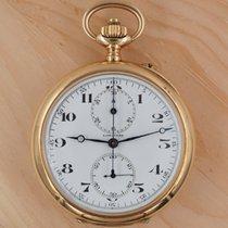Longines Uhr gebraucht 1923 Gelbgold 52mm Handaufzug Nur Uhr