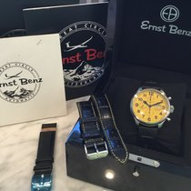 Ernst Benz Steel Automatic Ernst Benz Chronoscope Automatic Chronograph 10100 YELLOW pre-owned United States of America, California, Costa Mesa