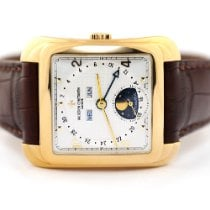Vacheron Constantin Yellow gold Automatic Silver 35.7mm pre-owned Historiques