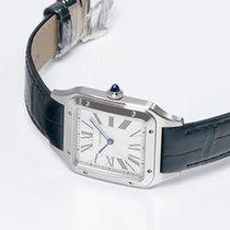 Cartier Santos Dumont Stahl 46.6mm Silber Römisch Deutschland, Berlin