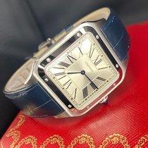 Cartier Santos Dumont Сталь 46.6mm Cеребро Римские