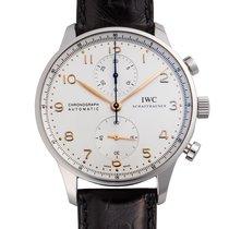 IWC (アイ・ダブリュー・シー) ポルトギーゼ クロノグラフ 新品 自動巻き 正規のボックスと正規の書類付属の時計 IW371445
