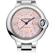Cartier Ballon Bleu 33mm Сталь 33mm Розовый Римские