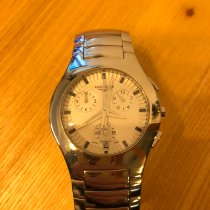 Longines Oposition Steel 38mm White
