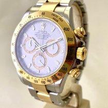 Rolex Uhr gebraucht 2006 Gold/Stahl 40mm Keine Ziffern Automatik Uhr mit Original-Box und Original-Papieren