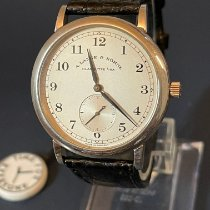 A. Lange & Söhne 1815 Platinum 36mm Silver Arabic numerals United States of America, New York, New York