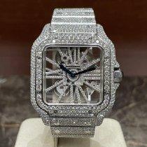 Cartier Santos (submodel) Сталь Прозрачный