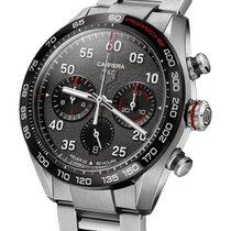 TAG Heuer Carrera Porsche Chronograph Special Edition Stahl 44mm Grau Arabisch