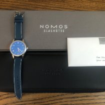 NOMOS Club Automat Datum Steel 41.5mm Blue Arabic numerals United States of America, Tennesse, Mount Juliet