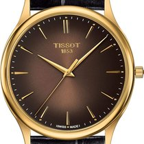 Tissot Желтое золото 40mm Кварцевые T9264101629100 новые