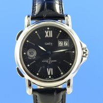 Ulysse Nardin Steel Automatic Black 40mm pre-owned San Marco Big Date