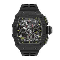 Richard Mille new Automatic 49.94mm Carbon Sapphire crystal