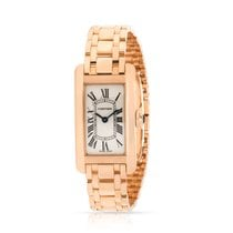 Cartier Tank Américaine Rose gold 19mm Silver United States of America, New York, New York