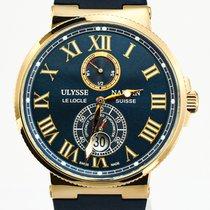 Ulysse Nardin Marine Chronometer 43mm Or rose 43mm Bordeaux Romains