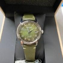 精工 Presage 鋼 38.5mm 綠色 無數字 香港