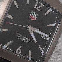 TAG Heuer Professional Golf Watch Titan 37mm Schwarz