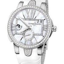 Ulysse Nardin Executive Dual Time Lady pre-owned Mother of pearl